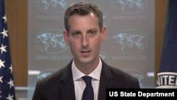 Phát ngôn viên Bộ Ngoại giao Mỹ Ned Price.
