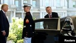 Ердоган (п) у Вашингтоні
