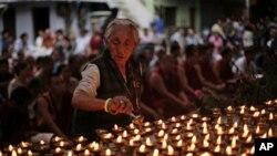 Tibetda ibodat paytida