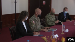Američka delegaciju na sastanku u Sarajevu