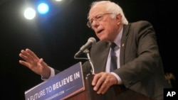 O'zini demokrat-sotsialist deb atayotgan Berni Sanders