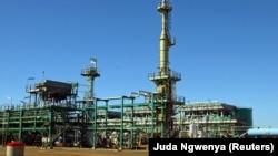 Projecto de Gás da Sasol, Temane, Inhambane, Moçambique,