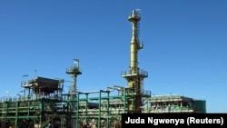 Projecto de Gás da Sasol, Temane, Inhambane, Moçambique