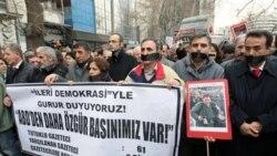 اعتراض به بازداشت روزنامه نگاران در ترکیه