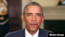 Президент США Барака Обамы.