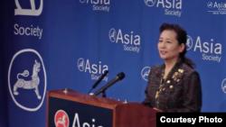 中国国务院新闻办副主任崔玉英(亚洲协会提供)