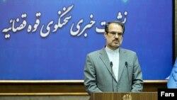 ذبیحالله خداییان، سخنگوی قوه قضائیه ایران - آرشیو