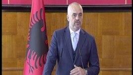 Kryeministri Rama komenton mbi situatën në Maqedoni