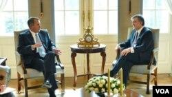 ABD Temsilciler Meclisi Başkanı John Boehner ve Cumhurbaşkanı Abdullah Gül