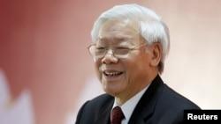 Tổng bí thư Nguyễn Phú Trọng từng nhiều lần lên tiếng về vụ Trịnh Xuân Thanh.