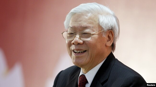 Ông Nguyễn Phú Trọng. (REUTERS/Luong Thai Linh)