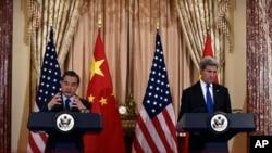"""Trong khi họp với Bộ trưởng Ngoại giao Trung Quốc Vương Nghị tuần này, Ngoại trưởng Hoa Kỳ John Kerry nói Hoa Kỳ """"không khao khát hay nóng lòng hoặc trông đợi một cơ hội để có thể bố trí hệ thống THAAD."""""""