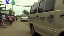 About 100 Workers Suffer a Fainting Spell at Cambodian Textile Factory (Cambodia news in Khmer)