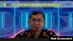 Kepala Pusat Data dan Informasi Kemenkes Anas Ma'ruf mengklaim kebocoran data pengguna eHAC tidak terjadi. (VOA)