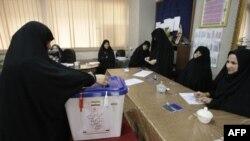 رأی گيری دور دوم انتخابات مجلس در ايران