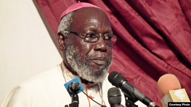 South Sudanese Catholic Bishop Paride Taban. (Credit: Hans-Peter Hecking)