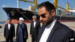 Hasan Ruhanî li Çabaharê (arşîv)