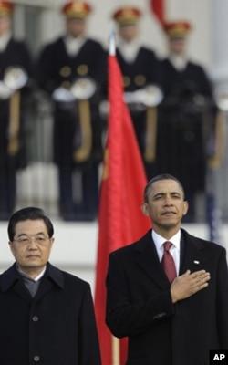 چینی صدر کا وائٹ ہاؤس میں شاندار استقبال