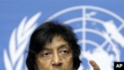 U.N. High Commissioner for Human Rights Navanethem Pillay (File Photo)
