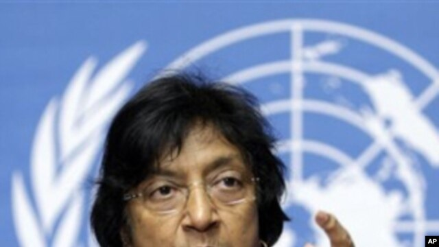 U.N. High Commissioner for Human Rights Navanethem Pillay (File Photo)