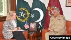 دیدار الیس ویلز، با جنرال باجوه، لوی درستیز اردوی پاکستان
