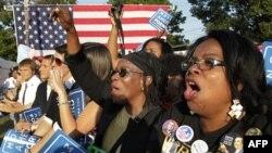Demokrat namizədlər afro-amerikalıları səsverməyə cəlb etməyə çalışır