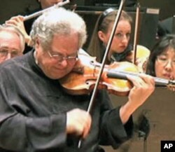 Israeli-born musician Itzhak Perlman