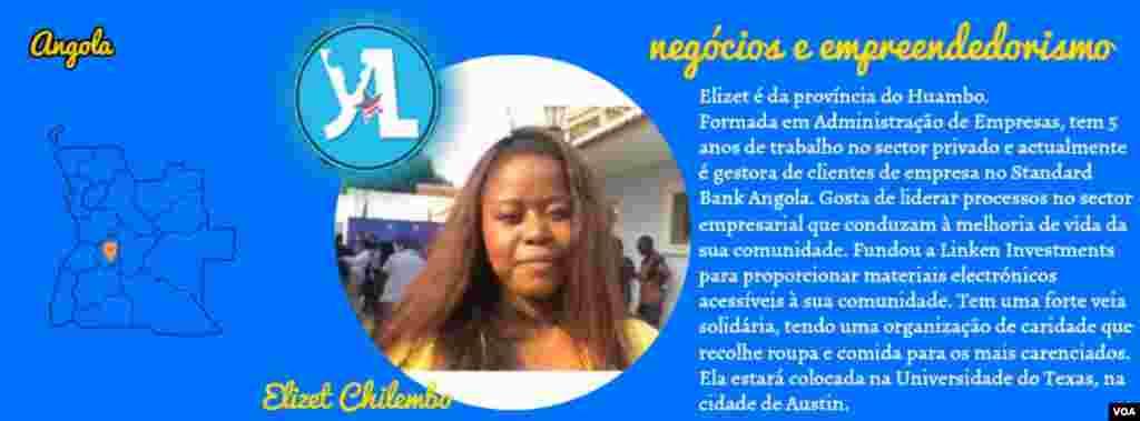 Elizet Chilembo, YALI 2016, Angola