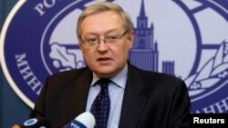 Wakil Menlu Rusia Sergei Ryabkov (foto: dok).