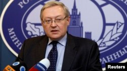 Wakil Menteri Luar Negeri Rusia, Sergei Ryabkov