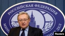 سرگئی ریابکوف، قائم مقام وزیر خارجه روسیه