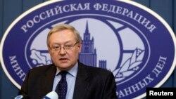 세르게이 랴브코프 러시아 외무차관 (자료사진)