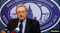 Заступник міністра закордонних справ РФ Сергій Рябков (архівне фото)