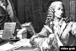 法国著名思想家、作家伏尔泰