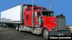 ລົດບັນທຸກໜັກ trucktor trailer