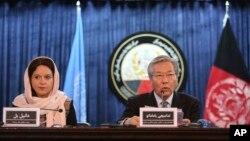 Wakilan Majalisar UNAMA Ta Majalisar Dinkin Duniya.