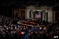 美国总统川普在国会发表国情咨文 (2018年1月31日)