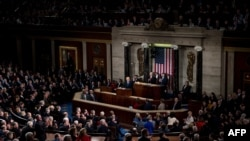 美國總統川普在國會發表國情咨文 (2018年1月30日)