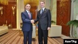 Novruz Məmmədov və Qurbanqulu Berdımuhammedov