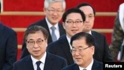 Chung Eui-yong û Suh Hoon