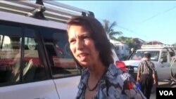 UNSG's special envoy to Myanmar Ms Christine Schraner Burgener