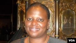 Sandra Nyaira, former English and Shona health reporter for the Zimbabwe Service