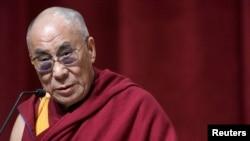 西藏流亡精神領袖達賴喇嘛(資料照片)