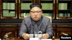 Ông Kim Jong Un phản kích bài diễn văn của Tổng thống Donald Trump đọc tại Đại Hội Đồng Liên Hiệp Quốc ngày 22/9/2017.