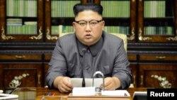 Обращение северокорейского лидера Ким Чен Ына 22 сентября 2017