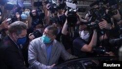Hong Konglu medya devi Jimmy Lai Chee-ying kefaletle serbest bırakıldı.