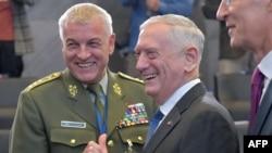 Američki ministar obrane Jim Mattis NATO, Brussels, 4. oktobra 2018.