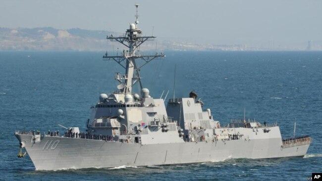 南华早报:自2007年美舰穿越台海92次