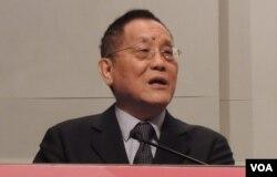 台灣中國文化大學中山與大陸研究所所長邵宗海表示,今年是兩岸展開政治對話的好時機(美國之音湯惠芸)