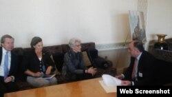 Elmar Məmmədyarov ABŞ Dövlət katibinin siyasi məsələlər üzrə müavini ilə görüşüb